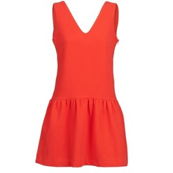 Clothing Women Short Dresses Suncoo CERENA Coral