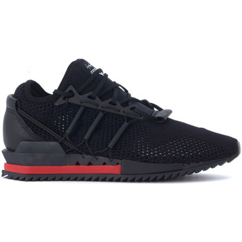 Shoes Men Low top trainers Y-3 Harigane black technical fabric sneaker Black