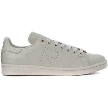 Shoes Men Low top trainers Adidas By Raf Simons Stan Smith light grey leather sneakers Grey