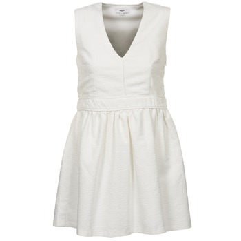 Clothing Women Short Dresses Suncoo CAGLIARI White
