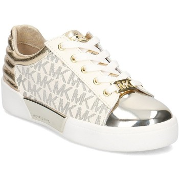 Shoes Children Low top trainers MICHAEL Michael Kors Zia Guard Yard Grey-White-Golden