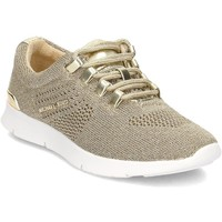 Shoes Children Low top trainers MICHAEL Michael Kors Zia Dawn Dear White-Beige-Golden