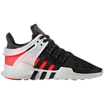 Shoes Children Low top trainers adidas Originals Eqt Support Adv J White-Black-Red