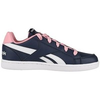 Shoes Children Low top trainers Reebok Sport Royal Prime White-Navy blue