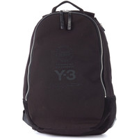 Bags Men Rucksacks Y-3 black fabric and suede backpack Black