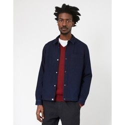 Clothing Men Denim jackets Folk Orb Jacket Navy Blue