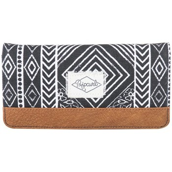 Bags Women Wallets Rip Curl Fresno Big Wallet LWUGS4 NEGRO