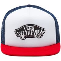 Clothes accessories Men Caps Vans CLASSIC PATCH TRUCKER HAT MULTICOL