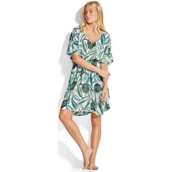 Clothing Women Tunics Seafolly PALM BEACH KAFTAN Green
