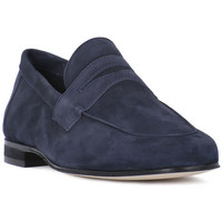 Shoes Men Loafers Soldini AMALFI BLU Grigio