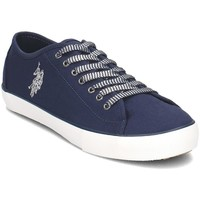 Shoes Women Low top trainers U.S Polo Assn. DYON4147S8C1DBKL Navy blue