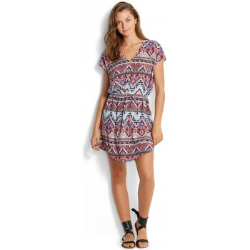 Clothing Women Short Dresses Seafolly , Sahara Nigths Kaftan Black