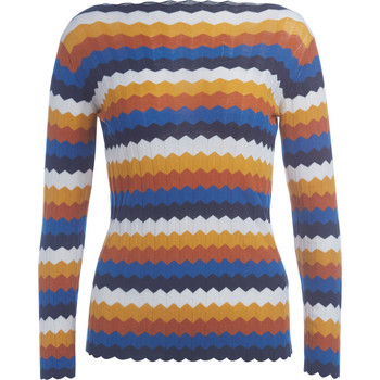 Clothing Women jumpers Roberto Collina multicolor cotton sweater Multicolour