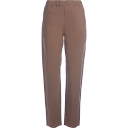 Clothing Women Wide leg / Harem trousers Roberto Collina tobacco trousers Brown