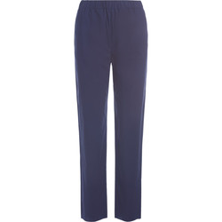 Clothing Women Trousers Roberto Collina blue trousers Blue
