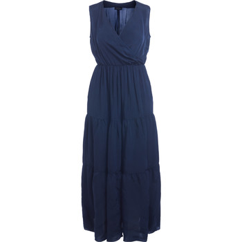 Clothing Women Dresses Roberto Collina blue long dress Blue