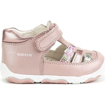 Shoes Children Sandals Geox New Balu Girl Pink