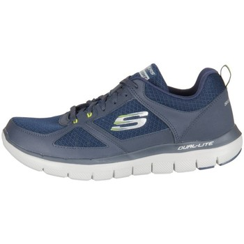 Shoes Men Low top trainers Skechers Flex Advantage Black