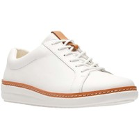 Shoes Women Shoes Clarks Amberlee Rosa Womens Trainers white