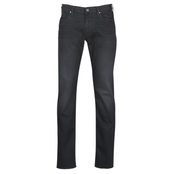 Clothing Men slim jeans Emporio Armani TAWAR Black