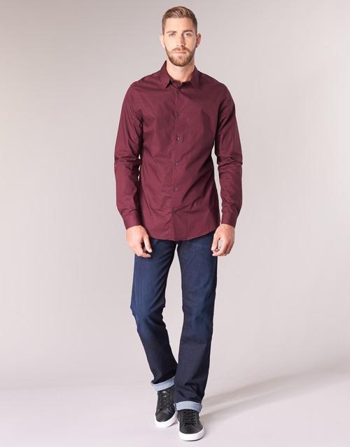 Clothing Men straight jeans Emporio Armani BOUWI Blue / Medium