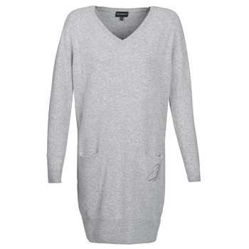 Clothing Women Short Dresses Emporio Armani CROWA Grey