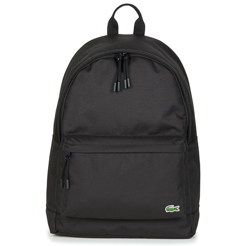 Bags Rucksacks Lacoste NEOCROC BACKPACK Black
