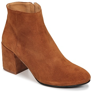 Shoes Women Ankle boots Emma Go ELNA Cognac