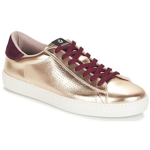 Shoes Women Low top trainers Victoria DEPORTIVO METALIZADO Gold
