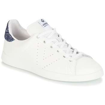 Shoes Girl Low top trainers Victoria DEPORTIVO BASKET PIEL White / Blue