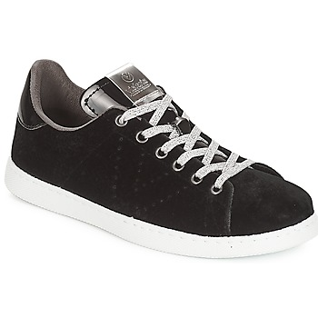Shoes Women Low top trainers Victoria DEPORTIVO TERCIOPELO Black