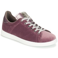 Shoes Women Low top trainers Victoria DEPORTIVO TERCIOPELO Purple
