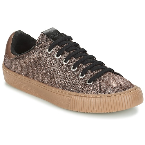 Shoes Low top trainers Victoria DEPORTIVO METALIZADO Bronze