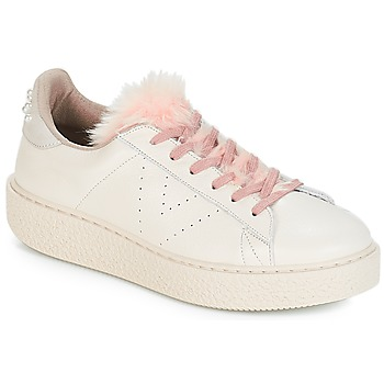 Shoes Women Low top trainers Victoria DEPORTIVO PIEL PERLAS Beige