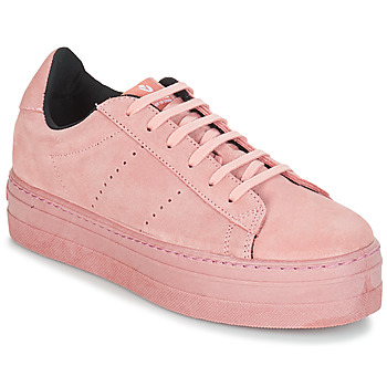 Shoes Women Low top trainers Victoria DEPORT SERRAJE MONOCOLOR Pink
