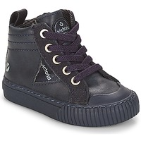 Shoes Children Hi top trainers Victoria BOTA PU CREMALLERA Marine