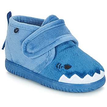 Shoes Children Slippers Victoria BOTA VELCROS ANIMALES Blue