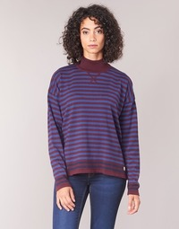 Clothing Women jumpers Armor Lux LOCTUDY Marine / Bordeaux