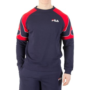 Clothing Men jumpers Fila Vintage Men's Aria Archive Raglan Sweatshirt, Blue blue