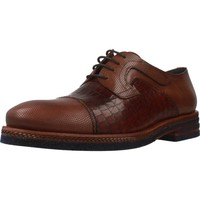 Shoes Men Derby Shoes Angel Infantes 02036A Brown