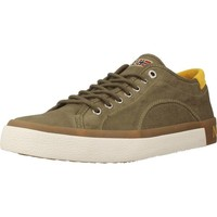 Shoes Men Low top trainers Napapijri JAKOB Green