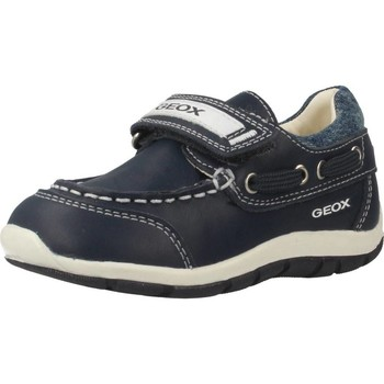 Shoes Children Boat shoes Geox B SHAAX Blue