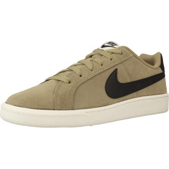 Shoes Men Low top trainers Nike COURT ROYALE Green