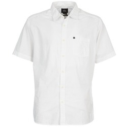 Clothing Men short-sleeved shirts Quiksilver EVERYDAY SOLID SS White