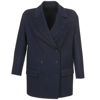 Clothing Women coats Joseph DOBBLE Marine