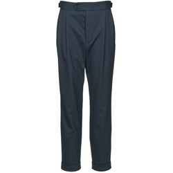 Clothing Women 5-pocket trousers Joseph DEAN Marine