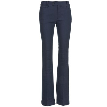 Clothing Women 5-pocket trousers Joseph ROCKET Marine