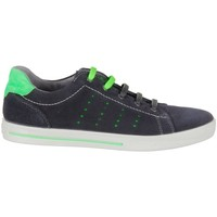 Shoes Children Low top trainers Ricosta Rey Black-Green