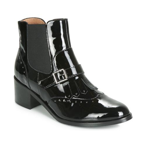 Shoes Women Ankle boots Karston GLEFI Black