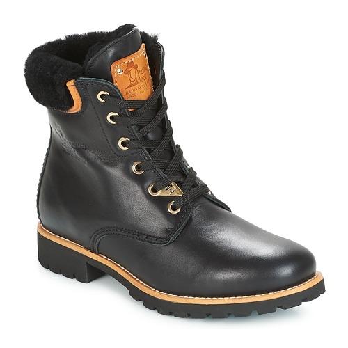 Shoes Women Mid boots Panama Jack PANAMA Black